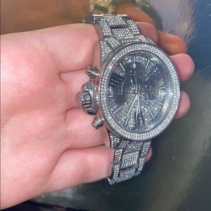 Silver Michael Kors watches